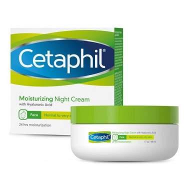 Cetaphil krem nawilżający na noc 48 ml dw. 30.09.21